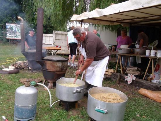 Alain et la cuisson des oignons